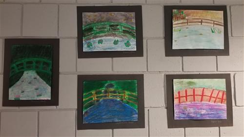 5th Graders' Art Skills on Display